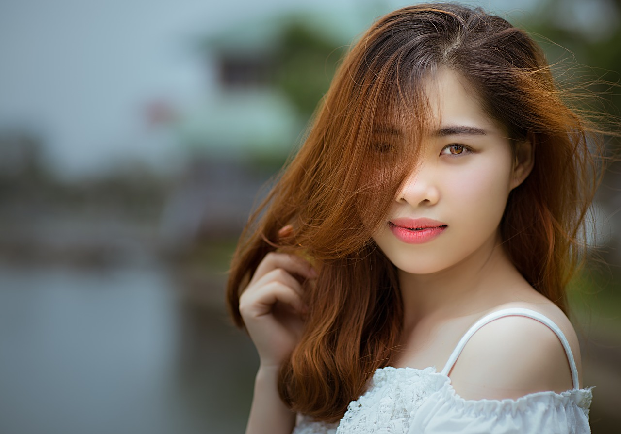 Natural beauty Chinese girl