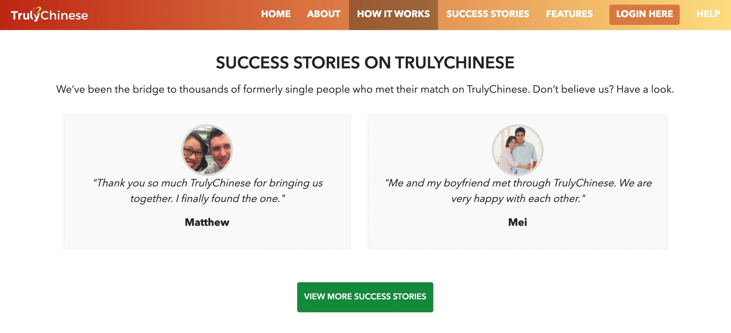 TrulyChinese success stories
